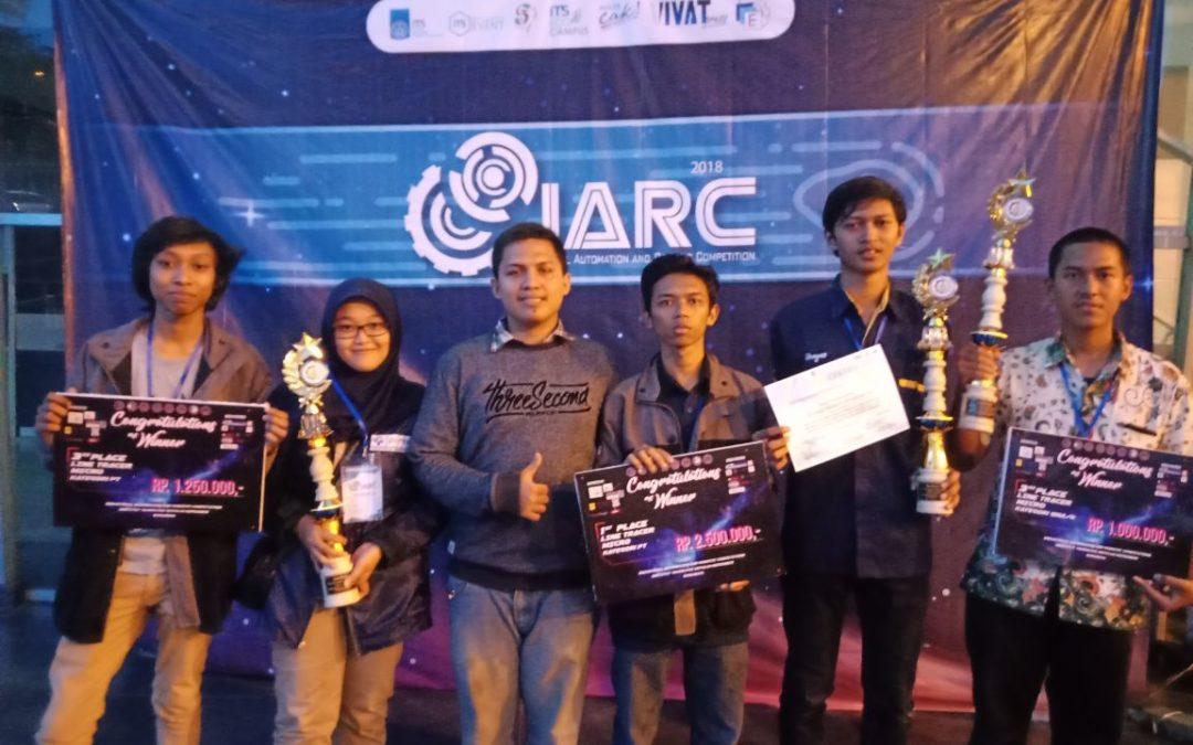 Mahasiswa PENS Berhasil Menyabet Dua Juara dalam IARC 2018