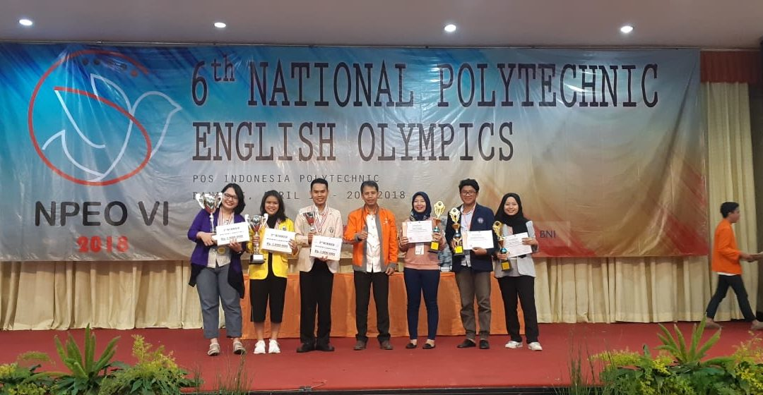 Mahasiswa PENS Raih Juara Harapan 3 dalam NPEO 2018