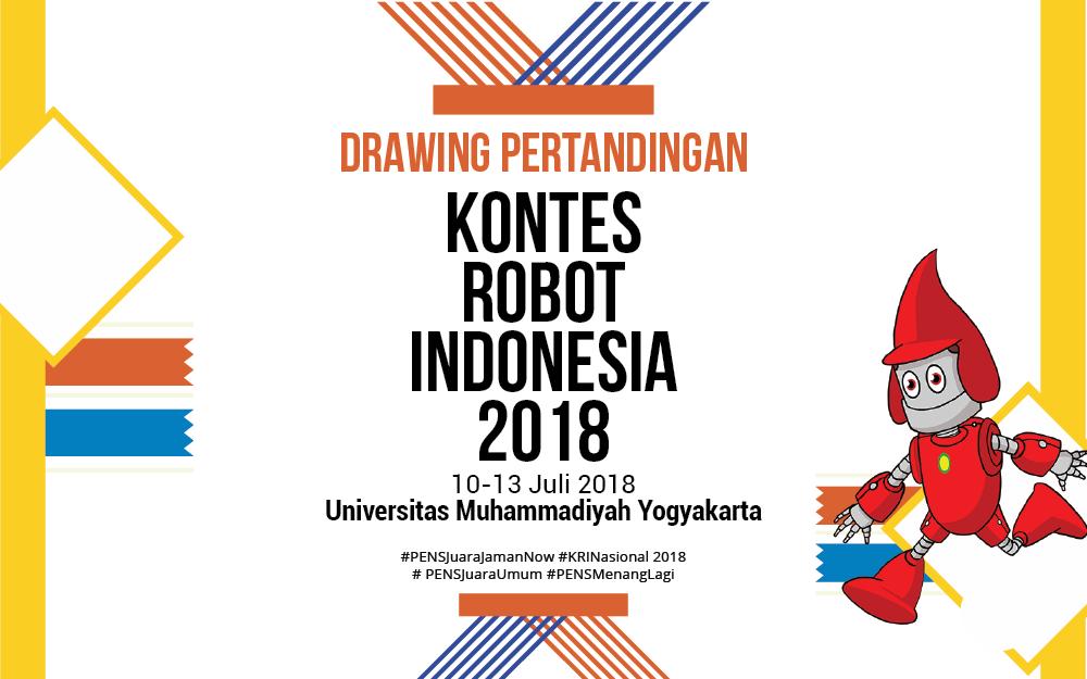 Drawing Nilai Akhir Putaran ke-3 KRPAI Tingkat Nasional 2018