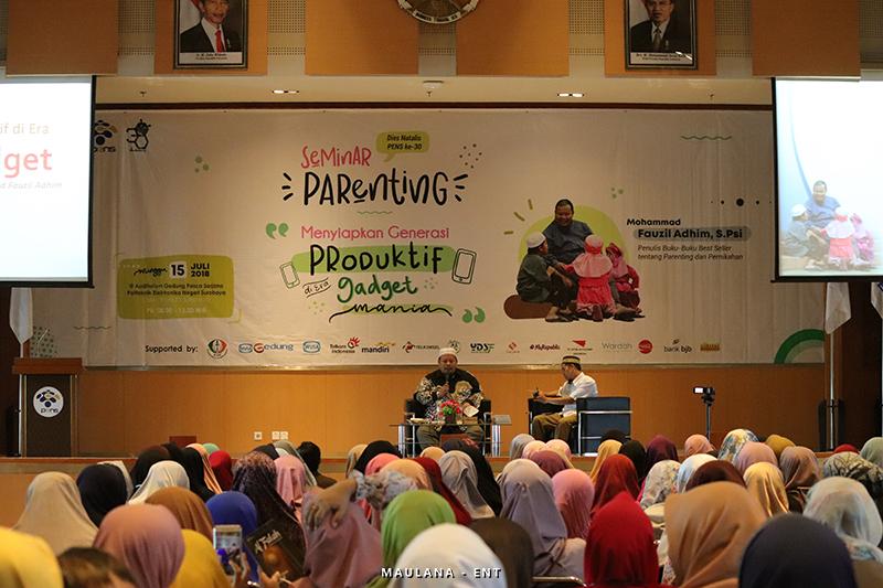 Seminar Parenting: Bekali Orang Tua Persiapan untuk Membesarkan Buah Hati