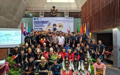 Tingkatkan Produktivitas UKM Terpilih, PENS Kirimkan Delegasi dalam Creativity Station 2018