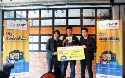 Vlog Competition Beswan Djarum : Mahasiswa PENS Raih Juara Satu