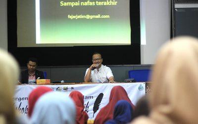 Jadikan Jurnalistik sebagai Media Dakwah, UKKI PENS Gelar Workshop Media Jurnalistik