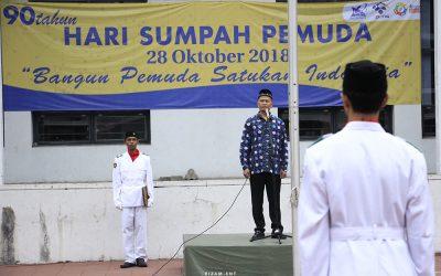 """Upacara Sumpah Pemuda 28 Oktober 2018 """"Bangun Pemuda Satukan Indonesia"""""""