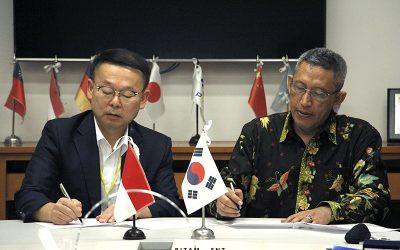 PENS dan Universitas Chung Cheong Korea Tanda Tangani MoU