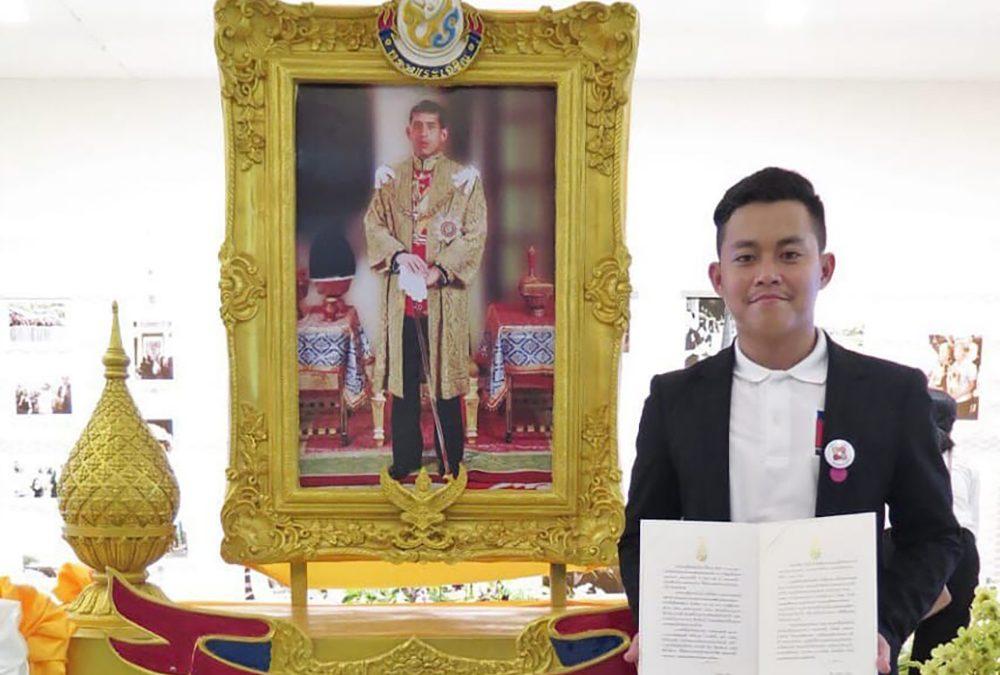 Berhasil Bantu Evakuasi, Alumni PENS Raih Penghargaan dari Raja Thailand