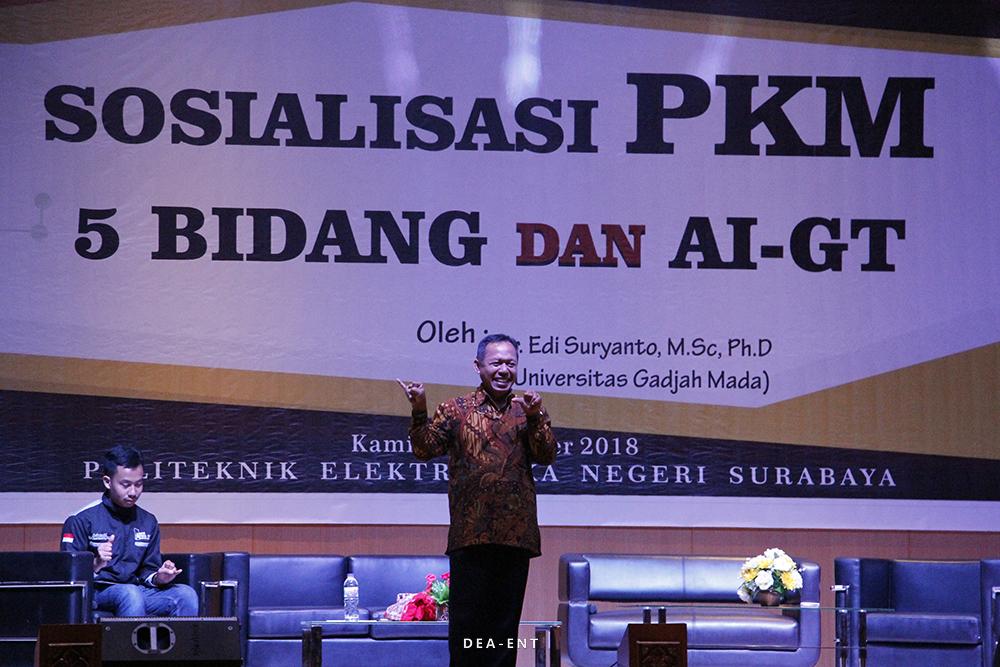 Targetkan Meningkatnya Prestasi Pada PIMNAS 32, PENS Gelar Sosialisasi PKM