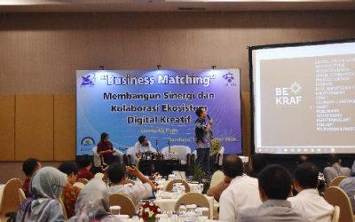 Kenalkan Tenant Pada Calon Investor, PENS Sky Venture Kembali Gelar Business Matching