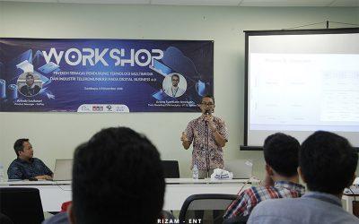 Kenalkan Fintech pada Dosen, Program Studi MMB Gelar Workshop dan FGD