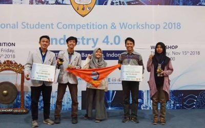 Mahasiswa Teknik Mekatronika PENS Bawa Pulang Gelar Juara dalam National Student Competition 2018