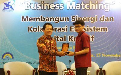 """""""Business Matching"""" Membangun Sinergi dan Kolaborasi Ekosistem Digital Kreatif"""