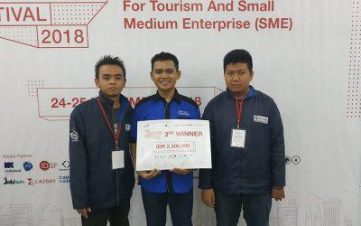 Semanggi-DEV Berhasil Bawa Pulang Juara Ketiga DILo HackathonFestival 2018