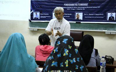 Buka Wawasan Mengenai Peran Mahasiswa Politeknik, BEM PENS Gelar Pendidikan Politeknokrat