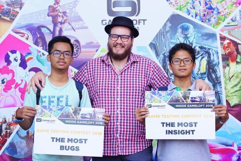 Dua Mahasiswa Baru Prodi Teknologi Game Raih Juara di Game Testing Contest 2018