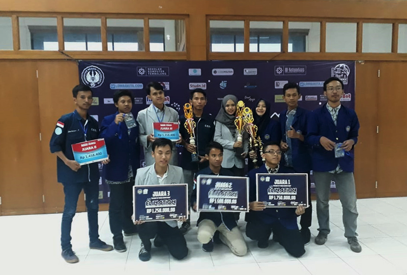 Mahasiswa Teknik Mekatronika Raih Juara Tiga Pada ELINATION 2018