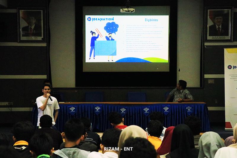Ajak Mahasiswa Kembangkan Kreativitas, PENS Gelar Sosialisasi Ideanation 2019