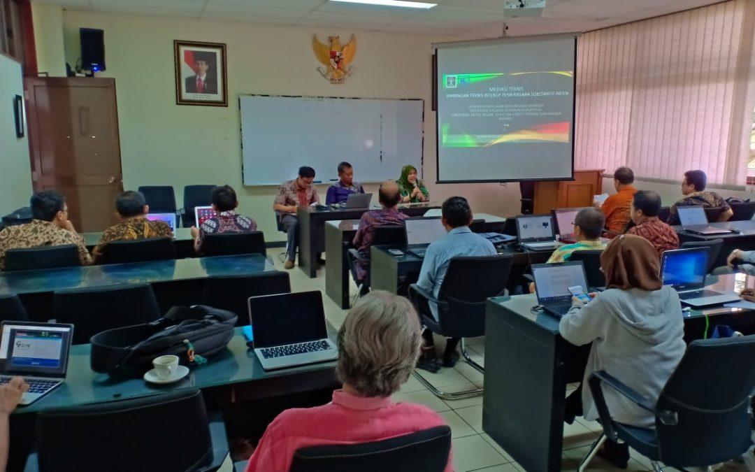 Mediasi Bimbingan Teknis Intensif Pemeriksaan Substantif Paten