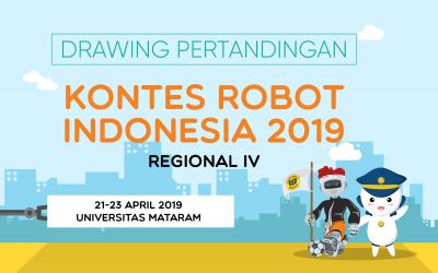 Drawing Daftar Peserta KRAI KRI 2019 Regional IV