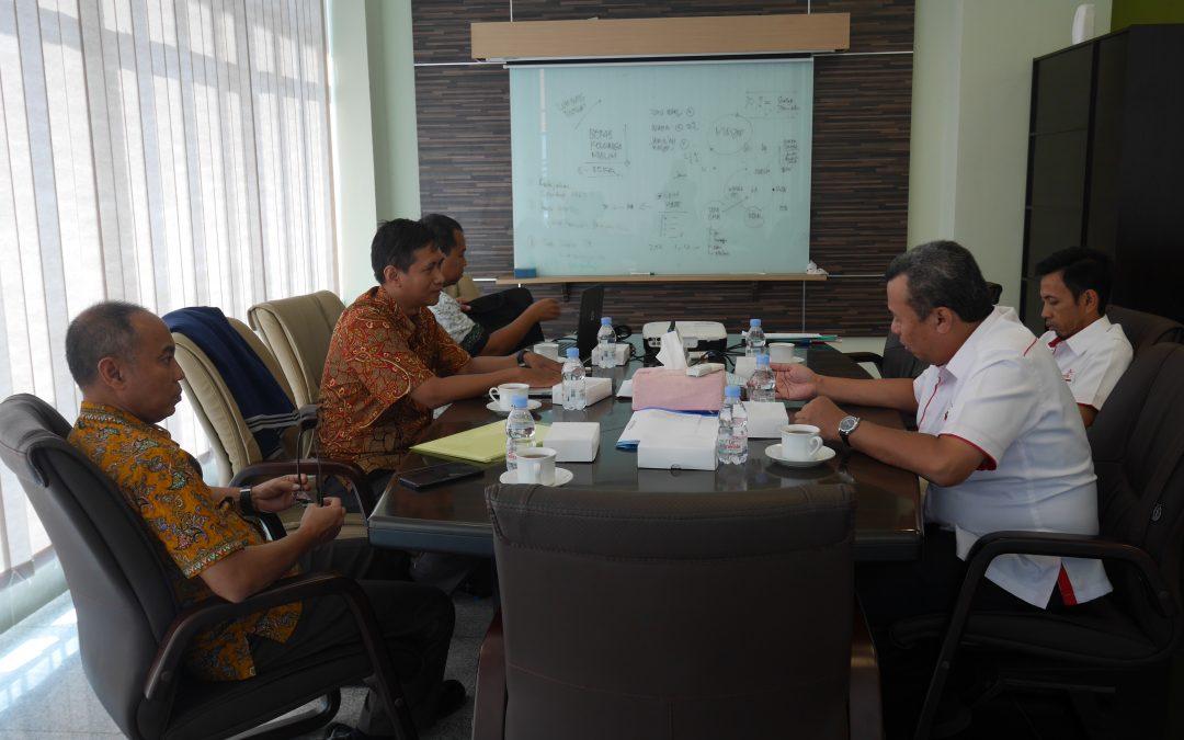 Penjajakan Kerjasama Cyber Campus dengan PIP Makassar