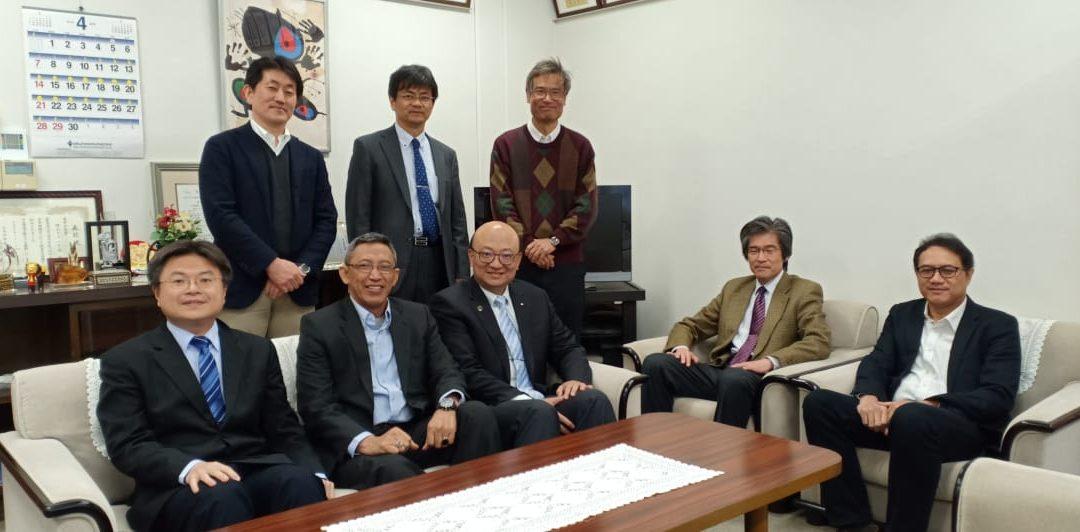 Memperkuat Kerjasama dengan 5 Universitas di Jepang