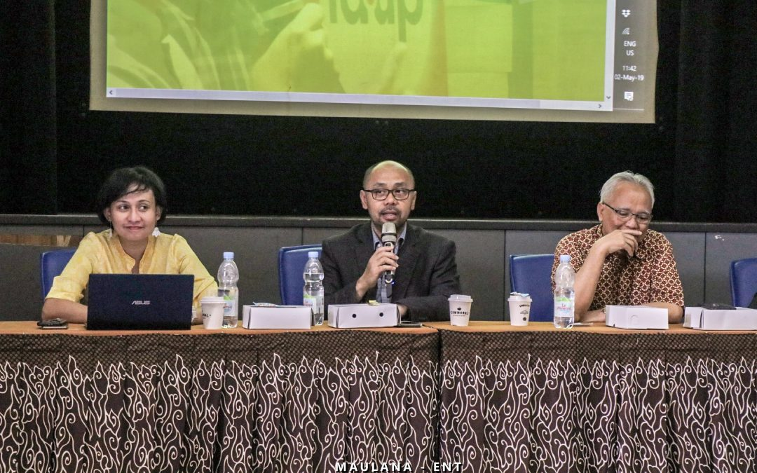 Pihak Kominfo dan Tiga Dewan Juri Sosialisasikan idenTIK 2019