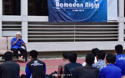 Perkuat Kekeluargaan Antara Mahasiswa dan Dosen, HIMIT PENS Gelar Ramadan Night