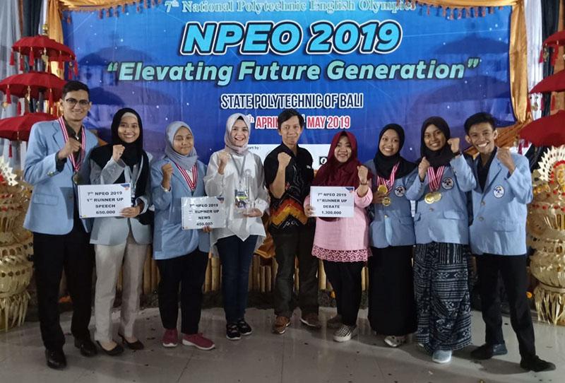 Raih Enam Kategori Juara, PENS Sukses Jadi Juara Umum NPEO 2019