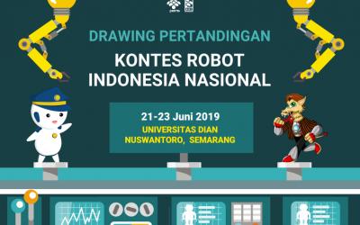 Drawing Rekapitulasi Akhir Seluruh Divisi KRI Nasional 2019