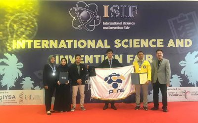 IHASCO, Antarkan PENS Raih Medali Perak ISIF 2019