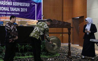 Pemukulan Gong, Resmikan Pembukaan Pilmapres Nasional 2019