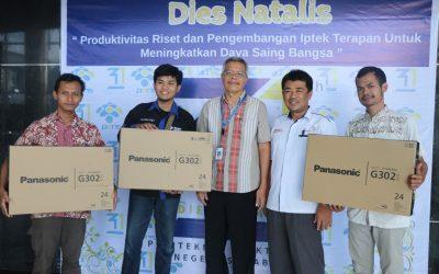 3 Mahasiswa PENS, Bawa Pulang Hadiah dari Dr (HC) Rachmat Gobel