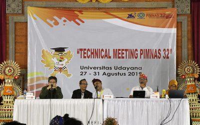 Hadiri Technical Meeting, 15 Delegasi PENS Siap Bertanding Dalam PIMNAS 32