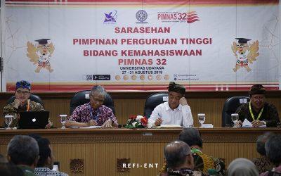 Sejumlah Perguruan Tinggi se-Indonesia Hadiri Sarasehan pada Ajang PIMNAS-32