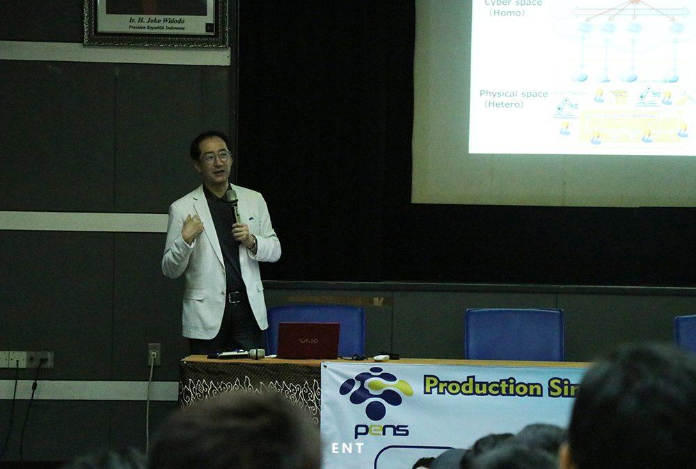 Beri Wawasan Perkembangan Revolusi Industri 4.0, PENS Helat Kuliah Tamu