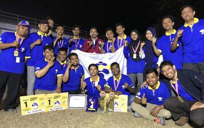 Tim Dirgantara PENS Sabet Juara Umum Komurindo-Kombat 2018/2019