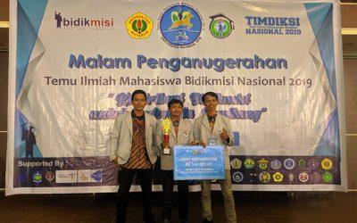 Mahasiswa Bidikmisi PENS Raih Predikat Best Presentation Timdiksi Nasional 2019