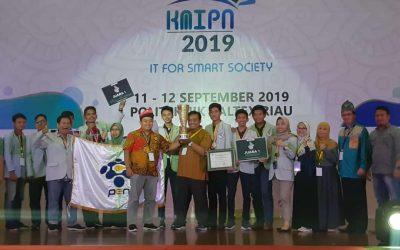 Bersaing dengan 21 Politeknik, PENS Sukses Keluar Sebagai Juara Umum KMIPN 2019