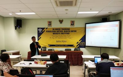 PENS Selenggarakan Seminar Edukasi untuk Perkembangan Website Institusi