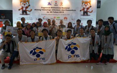 Tiga Karya Mahasiswa PENS Sukses Raih Juara Pada GEMASTIK XII