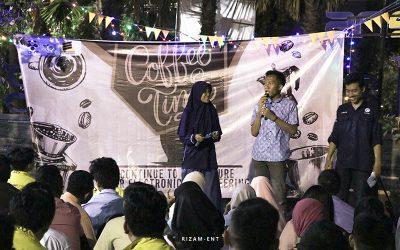 """Sambut Mahasiswa Baru Teknik Elektronika 2019, Hima Elka Gelar Welcome Party bertajuk """"COFFEE"""""""