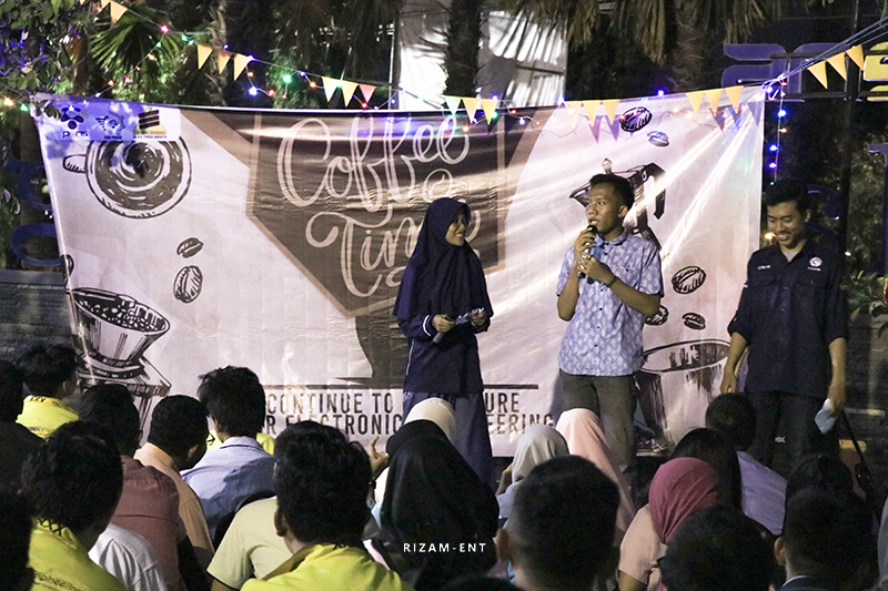"Sambut Mahasiswa Baru Teknik Elektronika 2019, Hima Elka Gelar Welcome Party bertajuk ""COFFEE"""