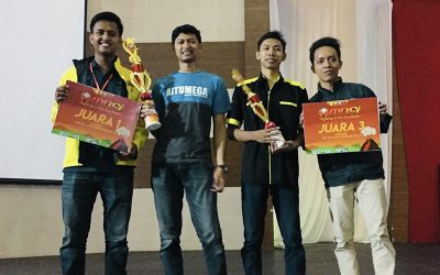 Unjuk Kebolehan di Ajang Mechatronics Robotic Competition, Dua Tim Asal PENS Sukses Raih Juara