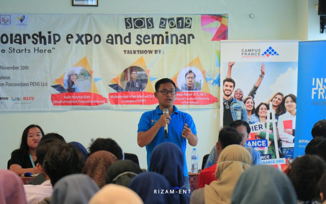 SOS 2019 : Persiapkan Mahasiswa PENS untuk Peroleh Beasiswa