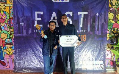 Mahasiswa PENS Sabet Juara 1 Kategori Speech Competition pada Ajang EAST 2019