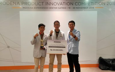 Berikan Inovasi Built-in Smart, Mahasiswa PENS Raih Juara 1 Modena Product Innovation Competition 2019