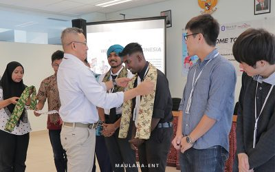 Sambut Lima Mahasiswa Program Student Exchange, PICO Helat Welcome Party