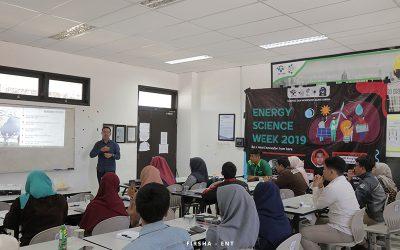 Energy Science Week 2019 : Kembangkan Skill Penulisan Karya Ilmiah Mahasiswa