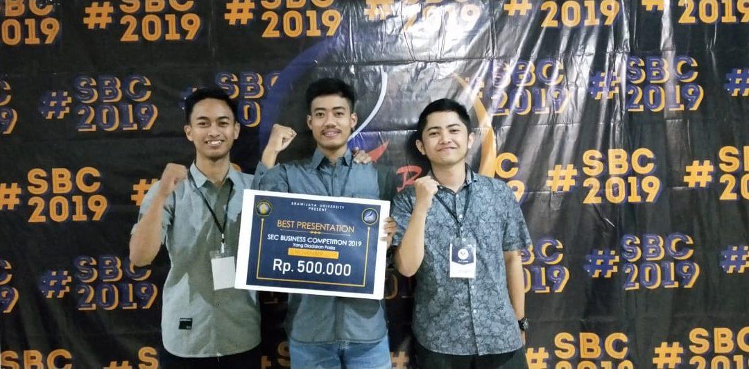 Buktikan Unggul di Bidang Non-Teknik, Mahasiswa PENS Raih Best Presentation pada SBC 2019