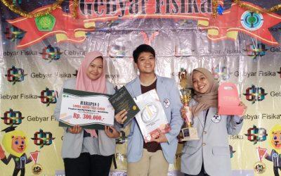 Unjuk Kebolehan 3 Mahasiswa PENS Berhasil Bawa Pulang Juara Harapan pada Ajang Lomba Karya Tulis Ilmiah Nasional