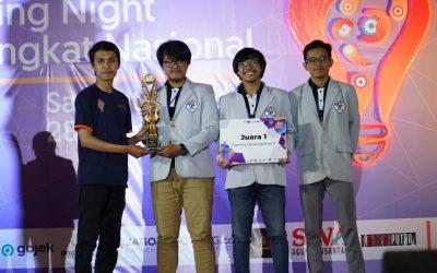 Tiga Mahasiswa PENS Berhasil Raih Juara 1 pada Kategori Game Development pada Hology 2.0